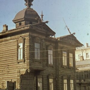 пер. Плеханова 5а. Автор: Станислав Никитин. 1970-е гг.