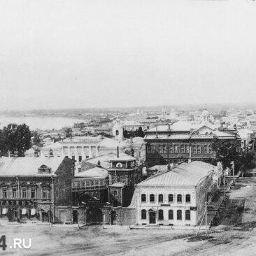 Вид с Троицкого собора
