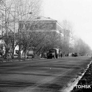 пр. Кирова 20 на общем плане. Автор: Станислав Никитин. 1970-е гг.