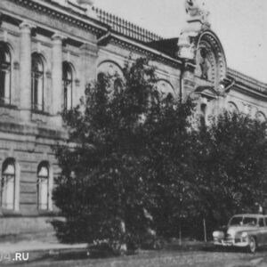 пер. Макушина 8. 1950-е гг. Автор неизвестен.