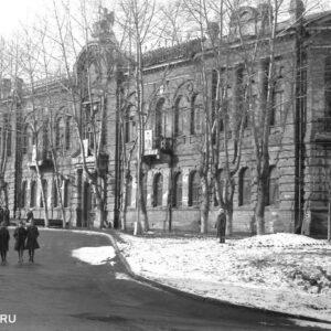 пер. Макушина 8. 1970г. Автор: Владимир Алин.