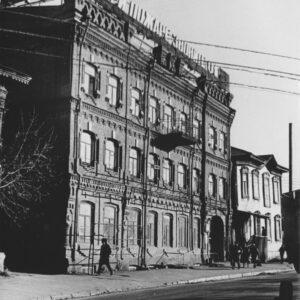 """ул. Обруб 4. 1984г. Фото из архива СИ """"Сибспецпроектреставрация""""."""