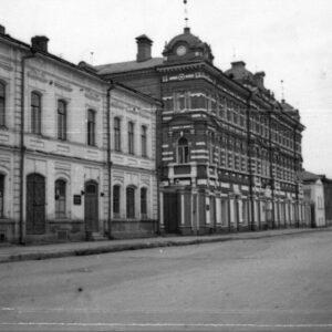 пер. Нахановича 3. 1950-е гг. Автор: Валерий Михайлов.
