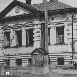 ул. Пушкина 1 (ул. Октябрьская 2). Автор и год неизвестны.