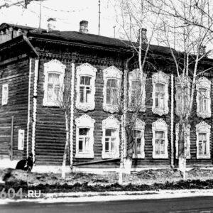 ул. Пушкина 28. Автор: Анатолий Ступаков. 1967-69 гг.
