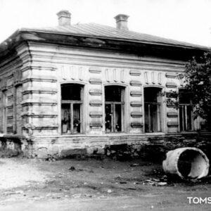 """ул. Свердлова 4. 1984г. Источник: СИ """"Сибспецпроектреставрация""""."""