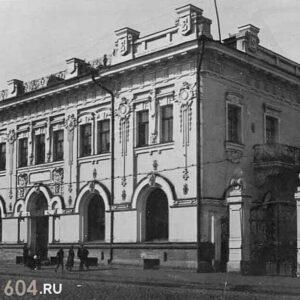 пр. Ленина 54. 1937г. Автор: М. Зильберштейн.