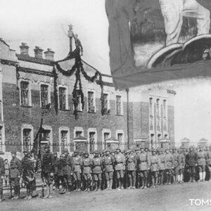 пр. Кирова 50 (ул. Киевская 105). Автор: А.В. Алисов. 1 мая 1924г.