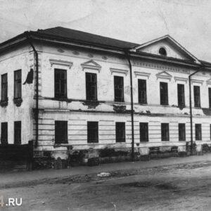 пр. Ленина 74 (ул. А. Беленца 10). 1920-50-е гг. Фото из архива ТОКМ.