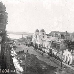 пер. Нахановича 4. Общий вид на переулок. 1930-е гг.