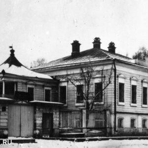 ул. Карташова 23. 1920-е гг. Автор неизвестен.
