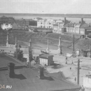 пл. Ленина 14. Вид с Воскресенской горы. Автор неизвестен. 1920-е гг.