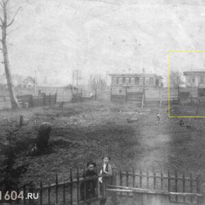 ул. Вершинина 16. Автор неизвестен. 1917г. Источник: ТОКМ.
