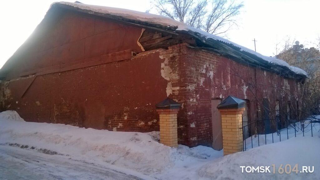 Советская 47. Хозяйственная постройка